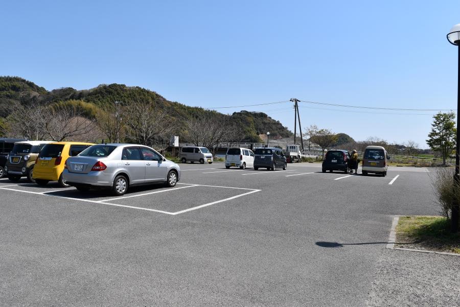 50 台ほど駐車できます