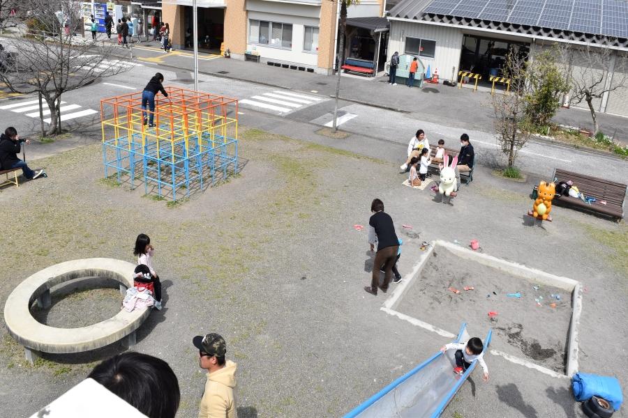 小さい子どもが過ごしやすい遊び場
