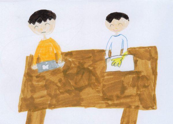 「家で働くお父さん・お母さん」の作品を募集しています※募集を締め切りました