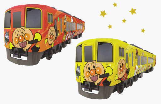 アンパンマン列車がこの夏リニューアル
