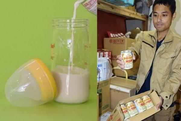 災害時に便利な液体ミルクの備蓄が進んでいます