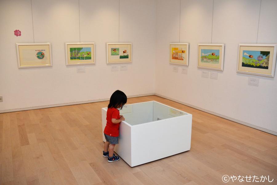 絵本の原画展も開かれています