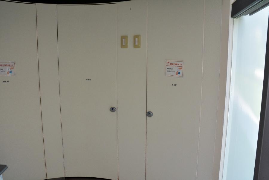 授乳室は扉があるので安心