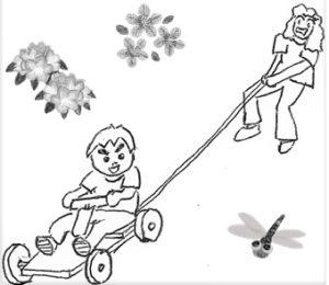 木の車を作ろう|高知市工石山青少年の家で親子木工教室