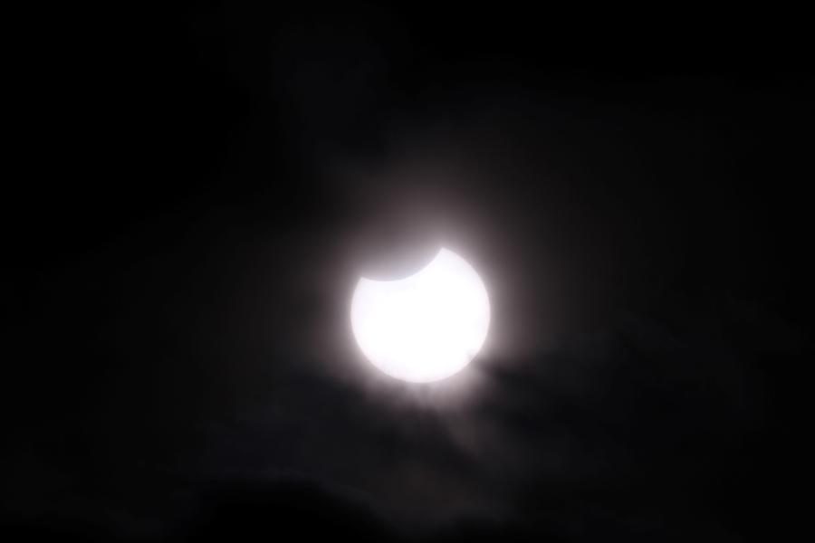 部分日食を見よう|芸西天文学習館で部分日食特別観測会
