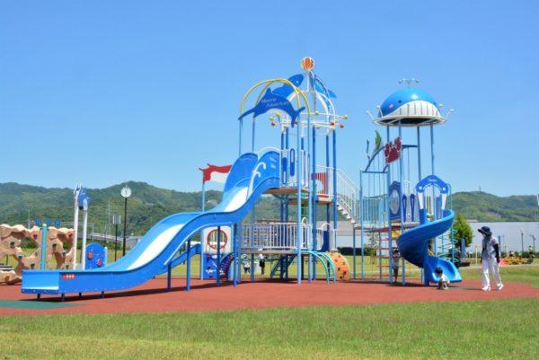 弥右衛門公園|高知市高埇にオープン!遊具のある大規模防災公園