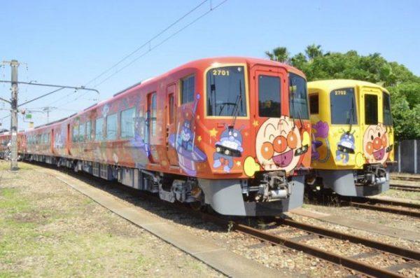 新しいアンパンマン列車 7月18日に出発!