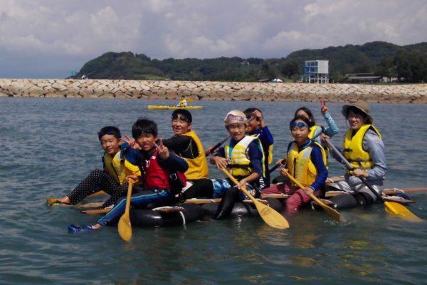 シーカヤック、イカダ、ヨットを楽しもう|香南市マリンスポーツセンターで「夏休み子供教室」