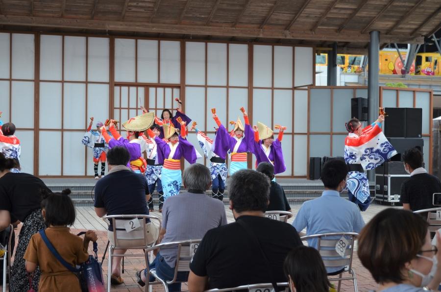 「祭三代・IKU」のよさこい鳴子踊り