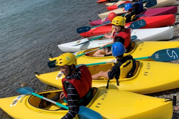 鏡川をカヌーで散策|高知市で「ふれあいカヌー体験教室」