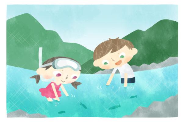 「密」避けて川へ!迷いながら帰省も…|ココハレ広場⑤「いつもと違う夏休み」