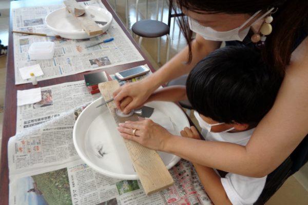 ピカピカの銅鏡を作ろう|高知県立埋蔵文化財センターで「銅鏡づくり」