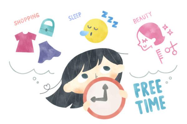 寝たい!美容院に行きたい!自分の買い物をしたい!|ココハレ広場⑦「3時間自由になったら何をする?」