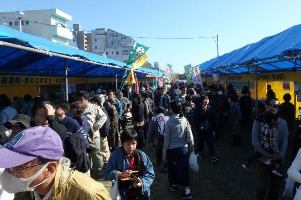 高知のグルメが勢ぞろい!|高知市で「フェスティバル土佐 第49回ふるさとまつり」