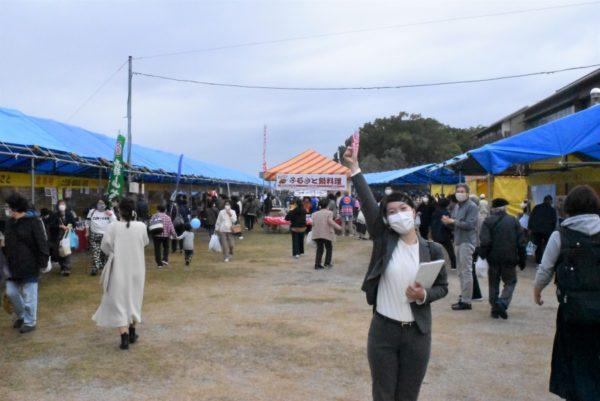 「第49回ふるさとまつり」に行ってみた|高知市の鏡川河畔「みどりの広場」で11月15日まで