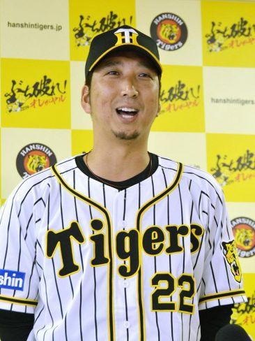 龍馬賞を受賞した藤川球児投手(2019年6月、甲子園)
