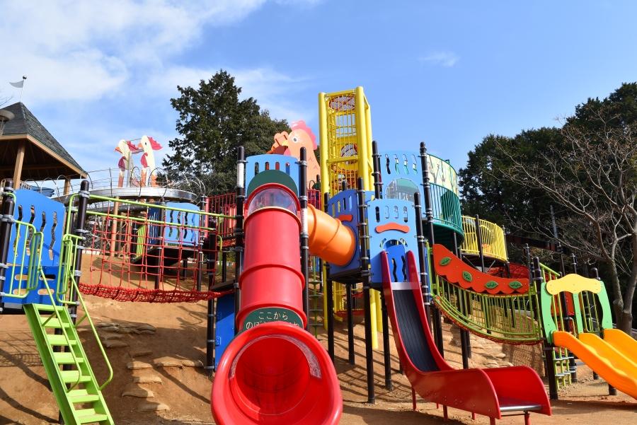 吾岡山文化の森「子どもの広場」|南国市の人気公園がリニューアル!年齢に合わせて楽しめます