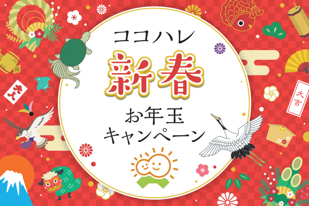 【ココハレのお年玉2021】高知のお父さん、お母さんにお年玉をプレゼント!