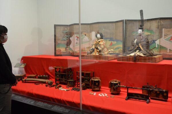 山内家から伝わる嫁入り道具|高知県立高知城歴史博物館で特別展示「山内家のひな人形・ひな道具」
