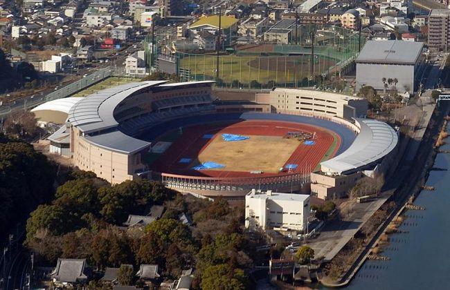 今夏のよさこい開催場所として有力視されるりょうまスタジアム(高知市大原町)