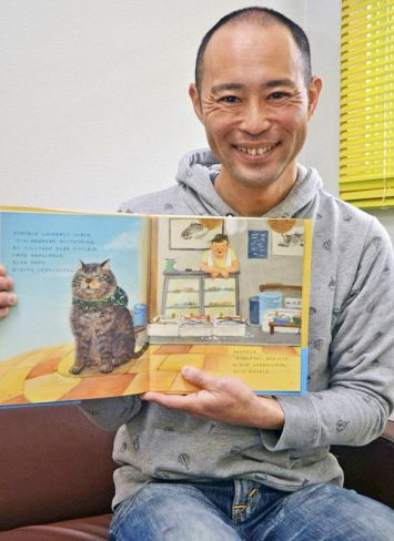 「子どもに寄り添うストーリーを」と日々創作意欲を燃やす小松申尚さん