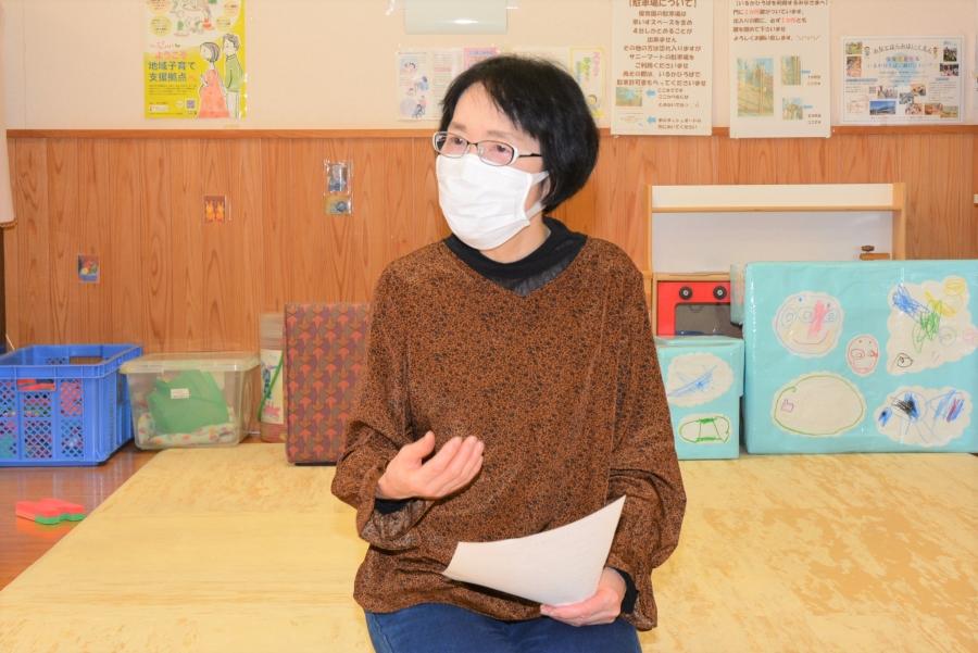 言語聴覚士の小村宣子さん。子どもたちの言葉の発達を支援してきました