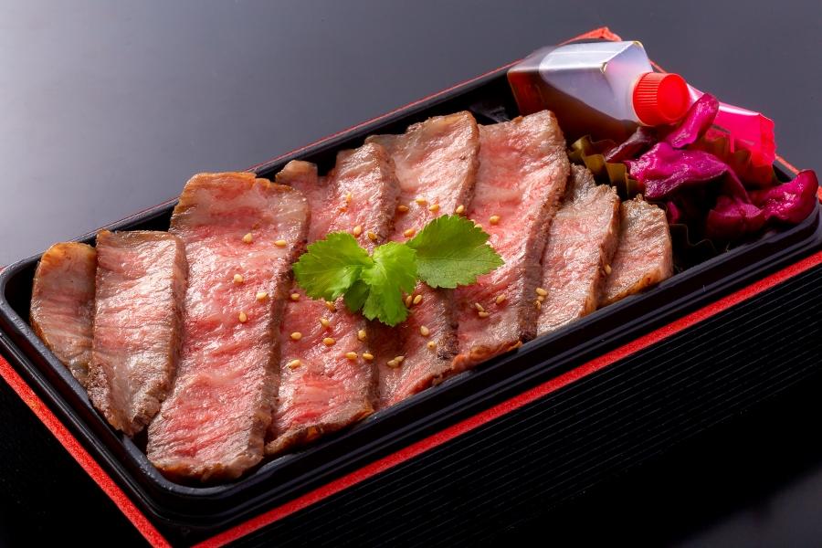 【兵庫県】蔓牛焼肉 太田家「神戸牛赤身ももステーキ弁当」