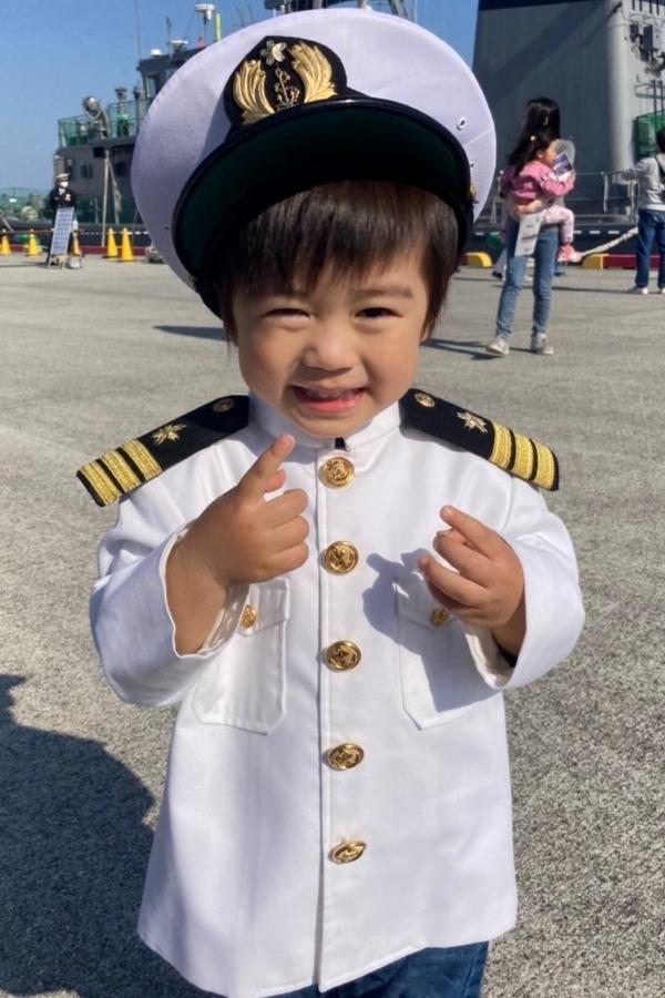 かわいすぎる水兵さん、どちらへ出航ですか…?