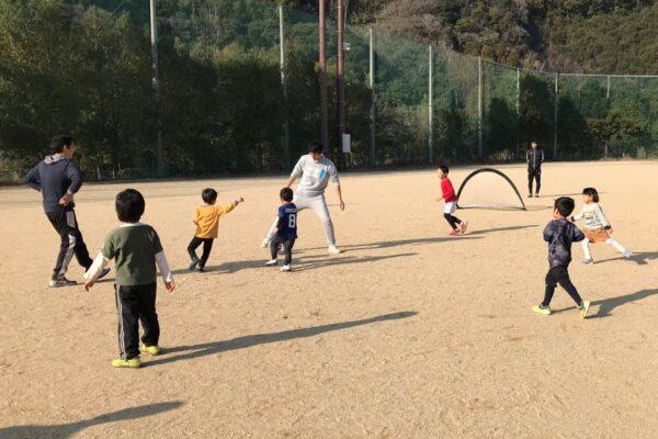 高知市の城ノ平運動公園で「ふれあいスポーツ体験DAY」|親子でさまざまな運動にチャレンジ