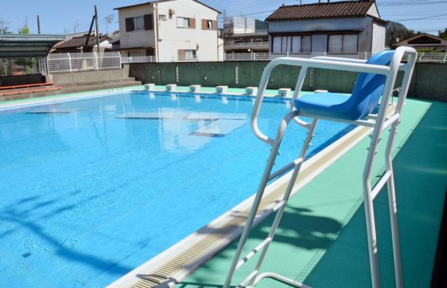 高知市内で1校のみとなる夏休みのプール開放。県内でも25校にとどまる