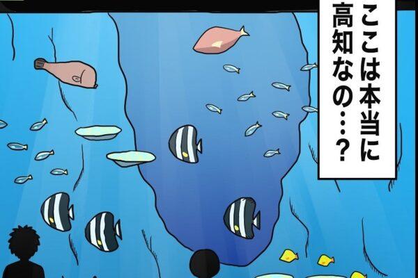 MOTOKOのおでかけ絵日記⑩「高知県立足摺海洋館 SATOUMI」