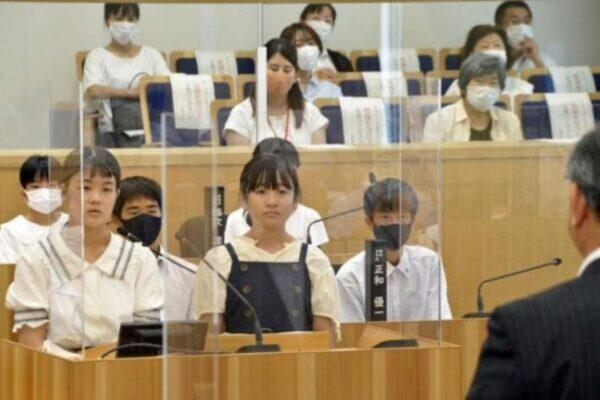 香南市で小中学生19人が市政をただしました|週間高知の子どもニュース(2021年7月31~8月6日)