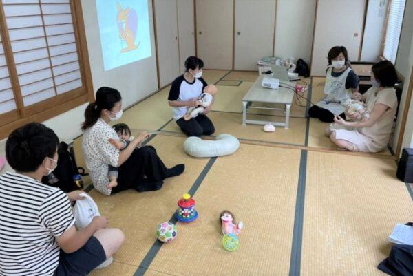 【9月の教室は10月に延期となりました】高知市地域子育て支援センター「はるの・わくわくぽけっと」で妊婦教室