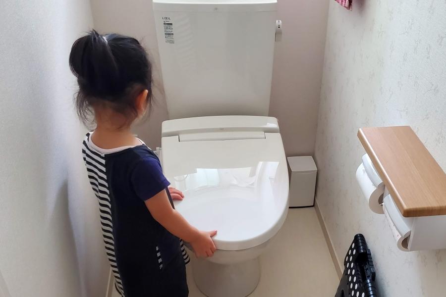 トイレに行くと決めたら上機嫌