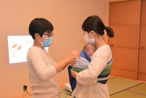 赤ちゃんの正しい抱っこの仕方は?抱っこひもの選び方は?|新生児期からの抱っこを学ぶ「ベビーウェアリング講座」