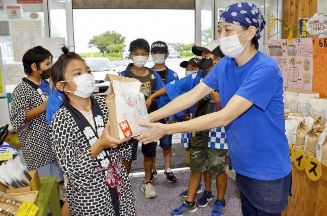 黒潮町南郷小の児童が作った米が販売されています|週間高知の子どもニュース(2021年9月4~10日)