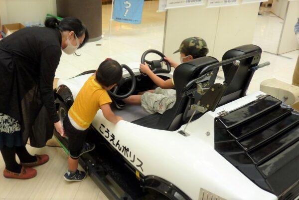 高知市の帯屋町商店街で「安全安心まちづくりひろば」|参加無料!パトカーの展示があります