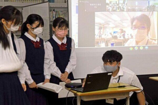 香美市香北中が大阪・池田中とオンライン交流しました|週間高知の子どもニュース(2021年10月9~15日)